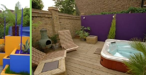 How to create a contemporary garden. Image ©Earth Designs