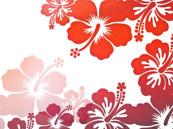 Bold floral print. Image by Vassiliki Koutsothanasi