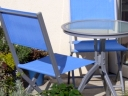 How to choose garden furniture. Photograph by Graham Soult