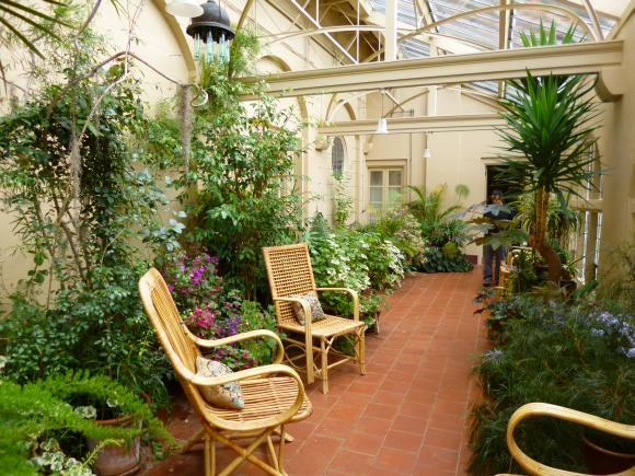 Conservatory at Standen (National Trust). Photograph by Graham Soult