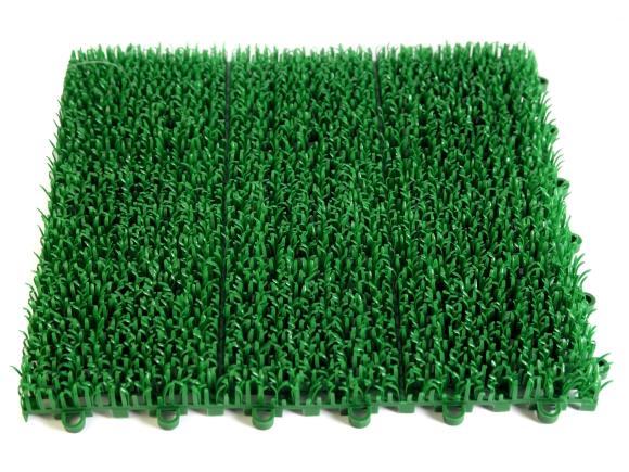 Artificial grass. Photograph by Michael Lorenzo