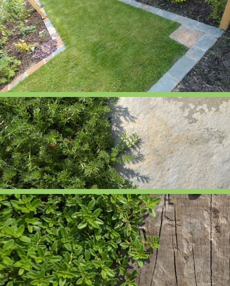 Tips for creating a low maintenance garden. Image ©Earth Designs