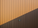 Garage door. Photograph by Mattox