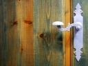 Door handle. Photograph by Fran Gambín