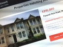 Online estate agent listing. Photograph by Graham Soult