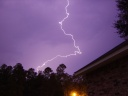Lightning. Photograph by Lizard Lick
