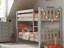 Jubilee Bunk Bed in Soft Grey. Photograph by Room to Grow