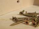 Wood and screws. Photograph by Patrycja Cieszkowska