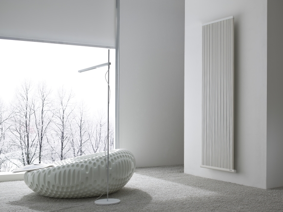 Needo T-line designer radiator from Intelli Heat