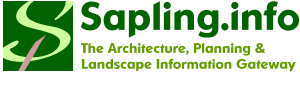 Sapling.info - The Architecture, Planning & Landscape Information Gateway