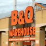 B&Q store. Photograph by Graham Soult