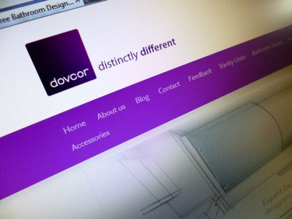 Dovcor Bathrooms website