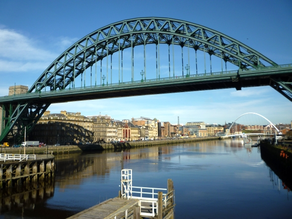 Newcastle riverside. Photograph by Graham Soult
