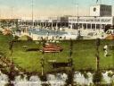 Old postcard of Butlins in Skegness