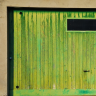 Vignette: Garage door. Photograph by Mattox