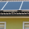 Vignette: Solar panels. Photograph by Attilio Lombardo