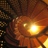 Vignette: Spiral staircase. Photograph by Craig Toocheck