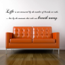 Vignette: Wall quote. Photograph by Spin Collective